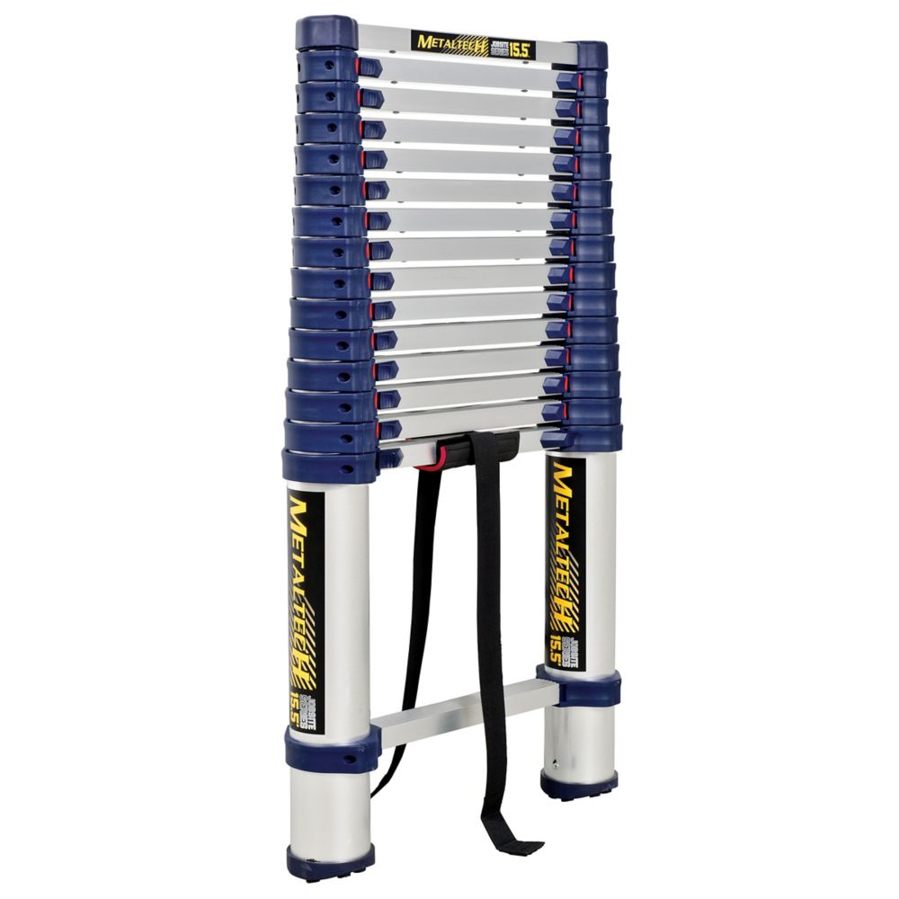 Metaltech 15.5 feet. Telescopic ladder E-LAD15T1