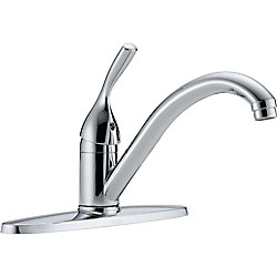 ClassicSingle Handle Kitchen Faucet, Chrome
