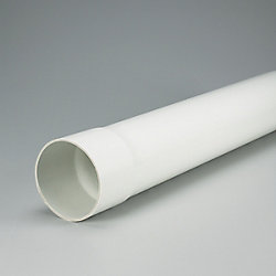 IPEX HomeRite Products PVC 4 inches x 10 ft SOLID SEWER PIPE - Ecolotube NS Spec.