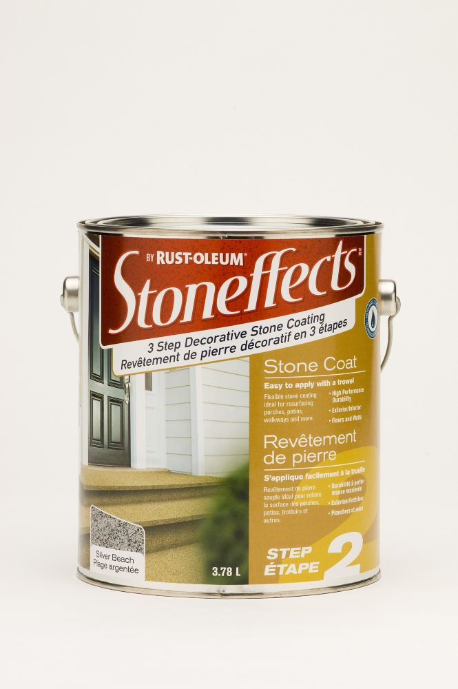 Step 2 - Stone Coating - Silver Beach (3.78L)