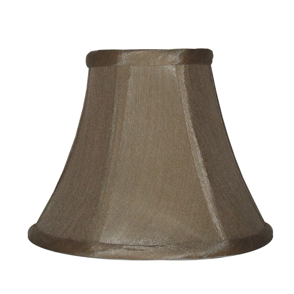 lighting 5 inch taupe shantung lamp shade the home depot canada. Black Bedroom Furniture Sets. Home Design Ideas