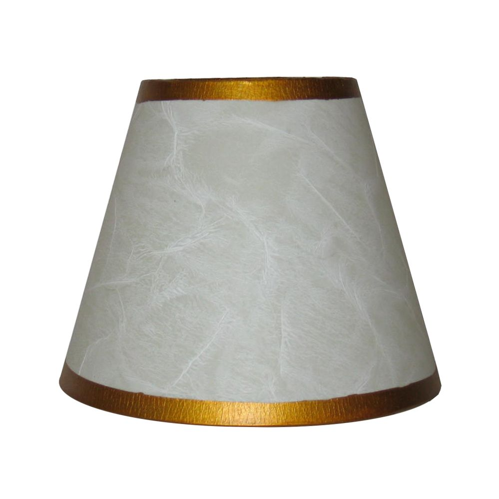 lighting 5 5 inch white parchment lamp shade the home depot canada. Black Bedroom Furniture Sets. Home Design Ideas