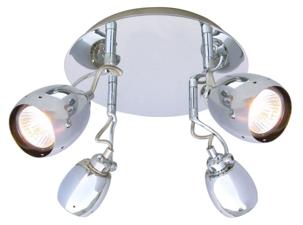 Egon Collection, 4 Light Flushmount