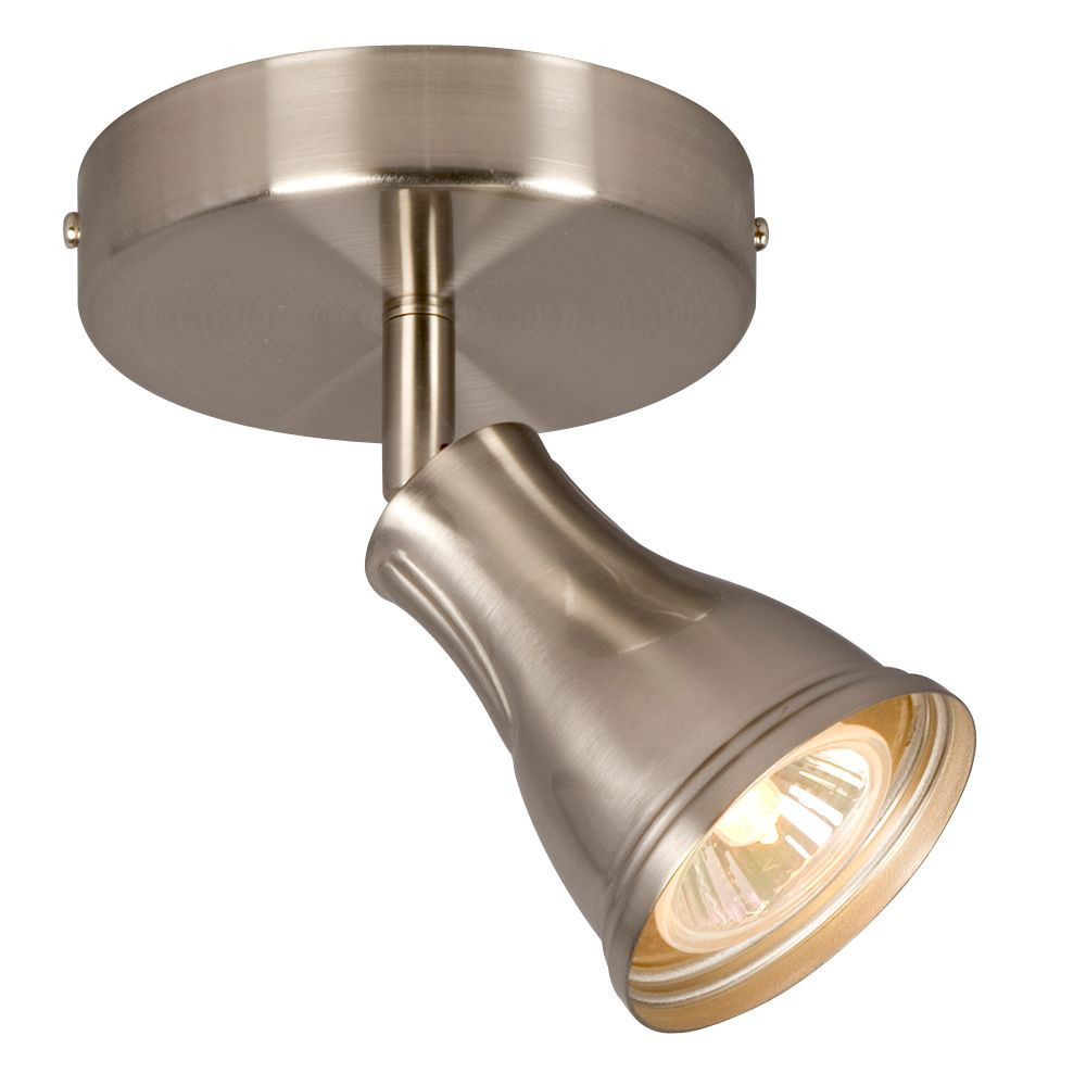 1 Light Brushed Nickel Track Light 001-55781BN Canada Discount