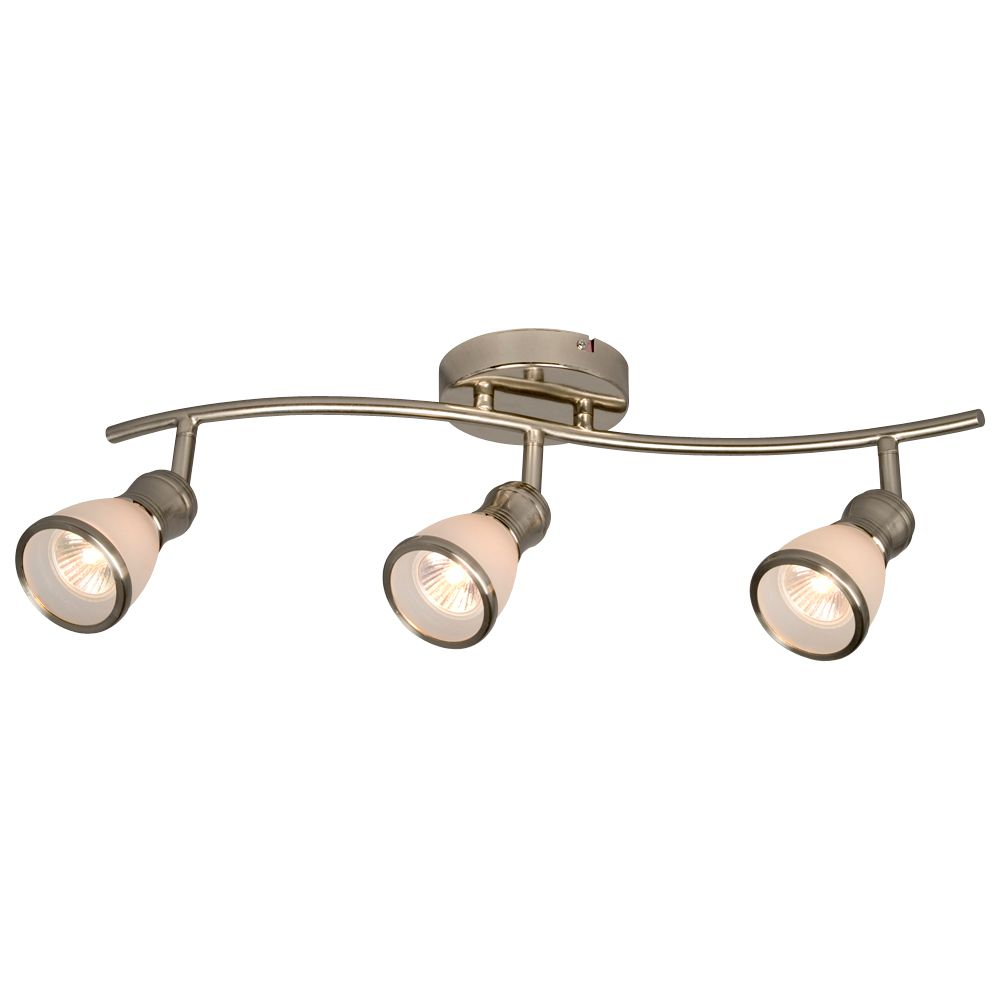 Brushed Nickel Track Light