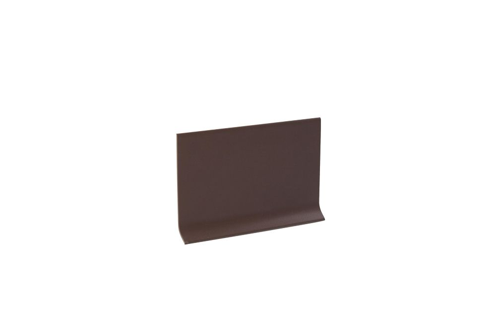 Vinyl Wall Base, Brown - 4 Inch
