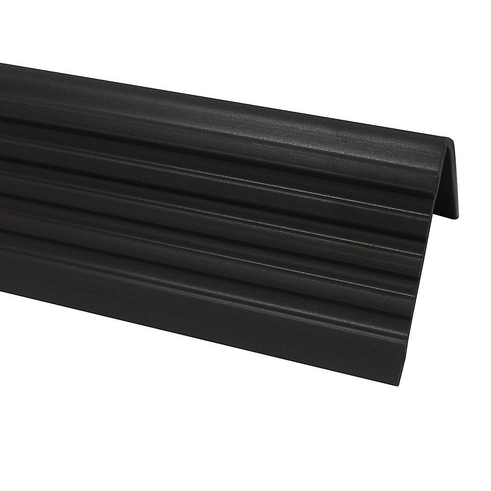 Shur Trim Vinyl Stair Nosing , Grey - 1-7/8 Inch   The Home Depot Canada