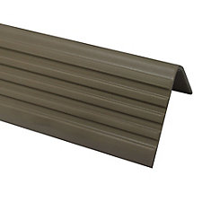 Superb Vinyl Stair Nosing, Beige   1 7/8 Inch