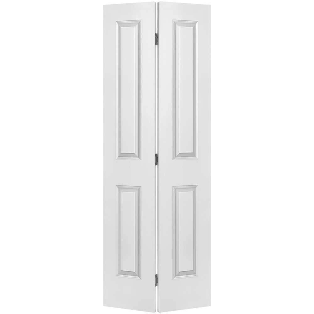 masonite porte pliante lisse 2 panneaux 24 po x 80 po home depot canada. Black Bedroom Furniture Sets. Home Design Ideas