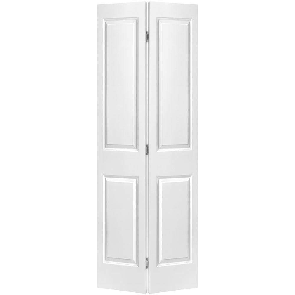 masonite porte pliante lisse 2 panneaux 30 po x 80 po home depot canada. Black Bedroom Furniture Sets. Home Design Ideas