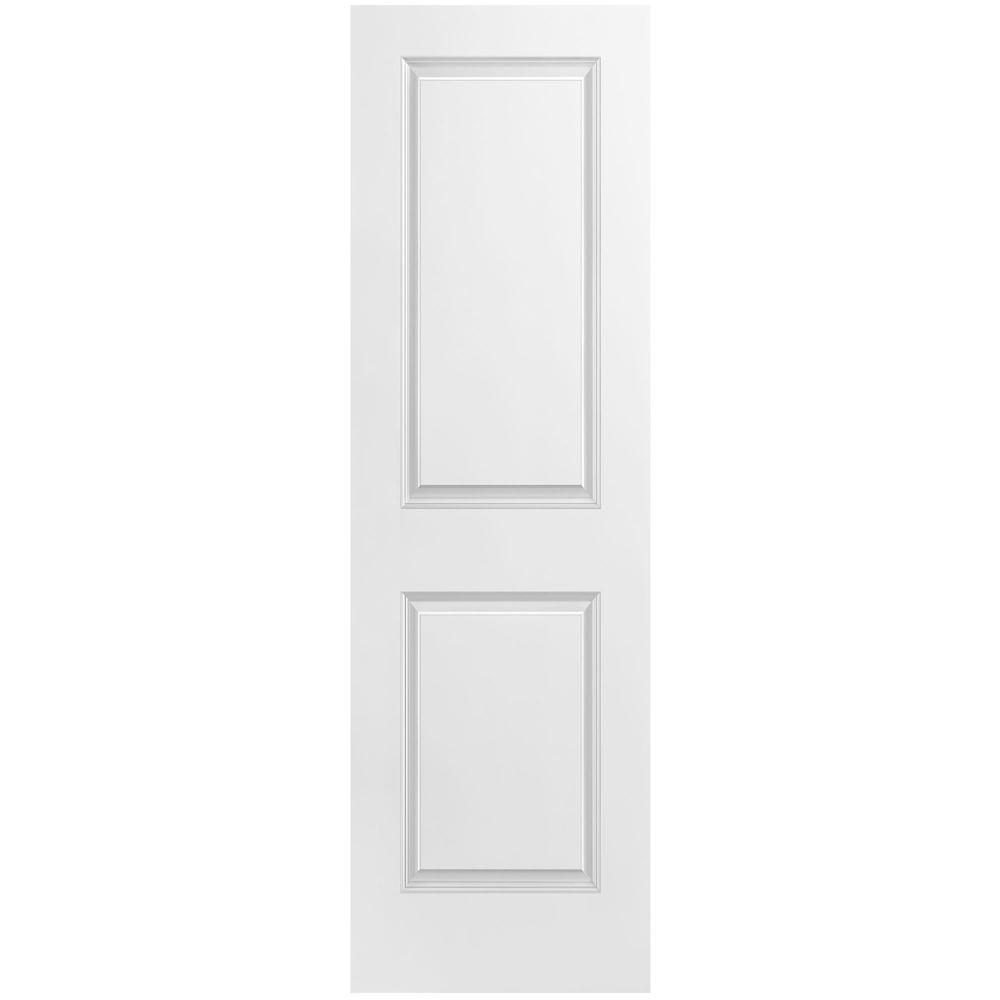 24-inch x 80-inch 2 Panel Smooth Door Slab