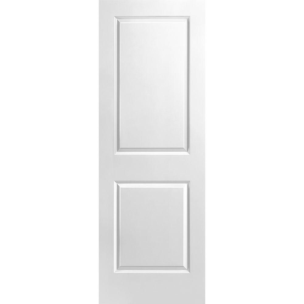 28-inch x 80-inch 2 Panel Smooth Door Slab