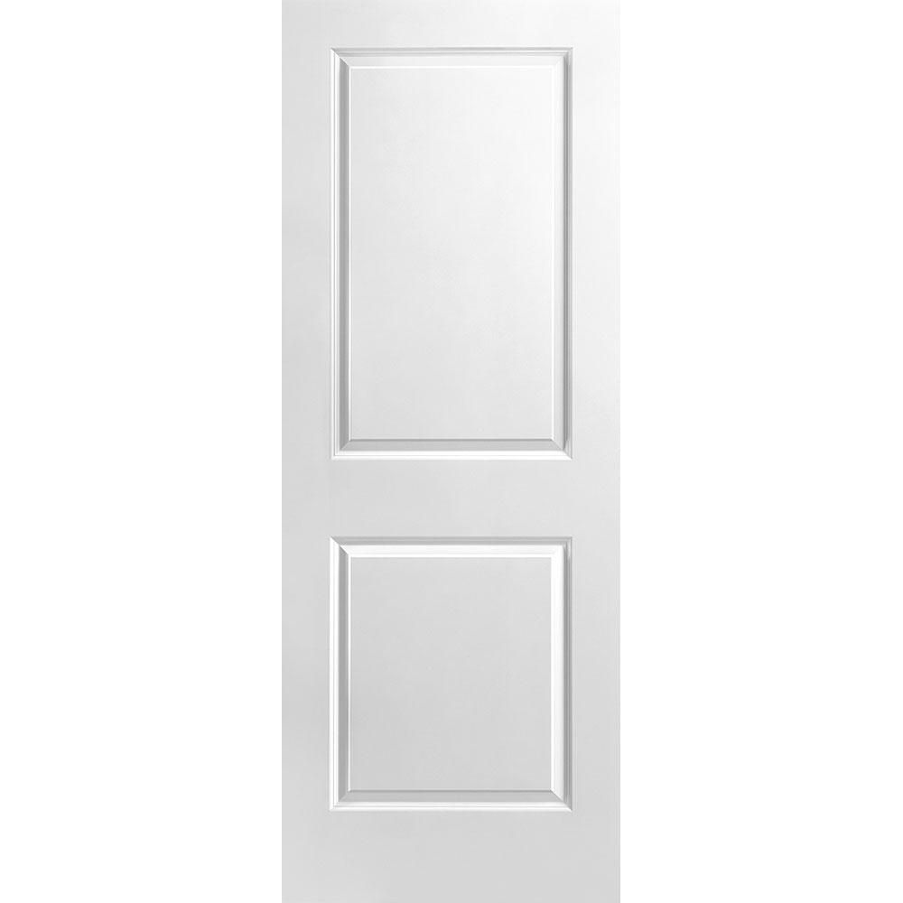 30-inch x 80-inch 2 Panel Smooth Door Slab