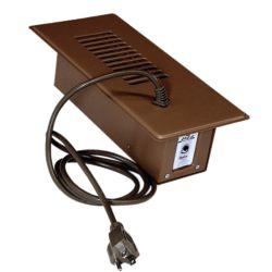 Cyclone Ventilateur d'appoint plus brun avec thermostat intégré