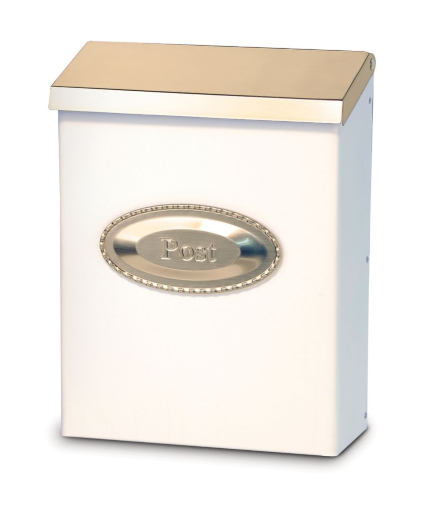 Colonial - White/Pewter With Emblem