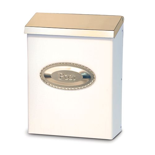 DMP Colonial - White/Pewter With Emblem