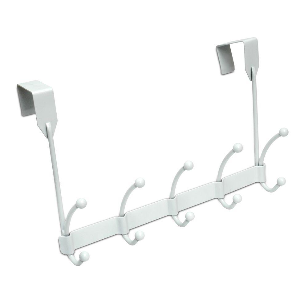 Over The Door Hook Bar - White