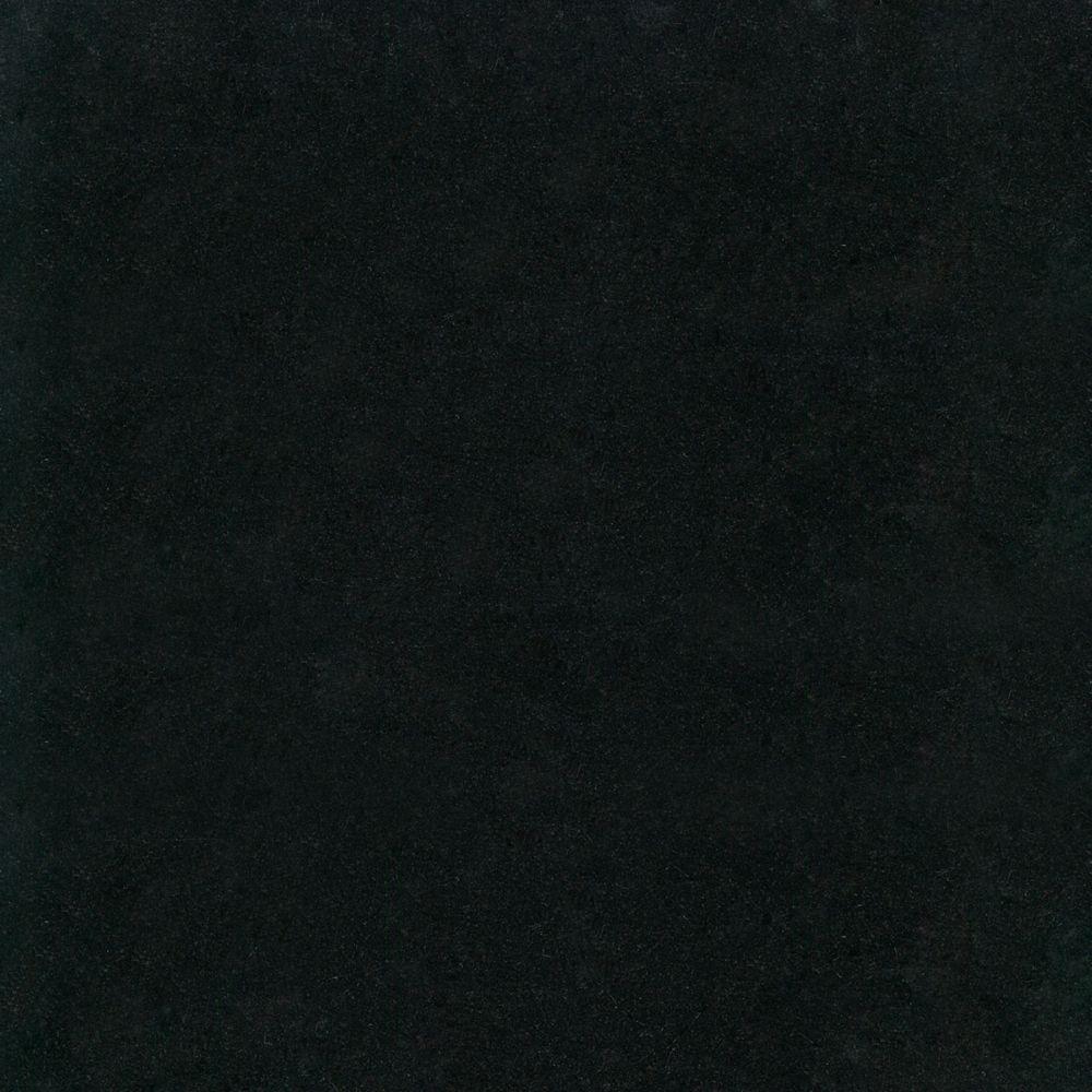 Absolute Nero 12-Inch x 12-Inch Polished Granite