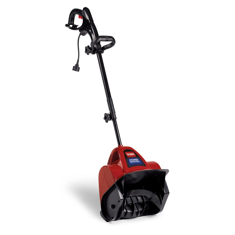 Toro 7.5 Amp Electric Power Shovel with 12-inch Clearing Width