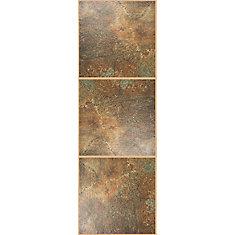 Chocolate Luxury Vinyl Tile Flooring  24 sq Custom Building Products AcrylPro Ceramic Tile Adhesive  Type I  . Home Depot Canada Ceramic Floor Tiles. Home Design Ideas