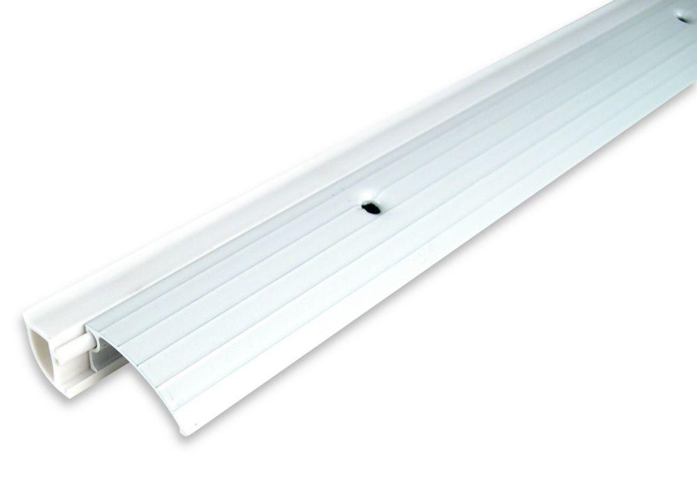 Climaloc plus seuil de porte alum polymere blanc 36 for Porte home depot