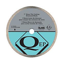 QEP 7-inch Glass Tile Diamond Blade for Wet Tile Saws