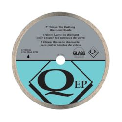 QEP 7-inch Glass Tile Diamond Blade for Wet Tile Saws