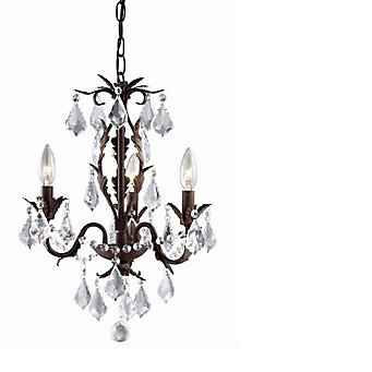 Hampton bay heritage aged iron chandelier the home depot canada heritage aged iron chandelier aloadofball Choice Image