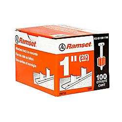 Ramset Goupilles De 1 Po, Paquet De 100