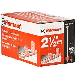 Ramset Goupilles De 2 1/2 Po, Paquet De 100
