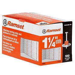 "Ramset 1 1/4"""" Washered Pin (100-Pack)"
