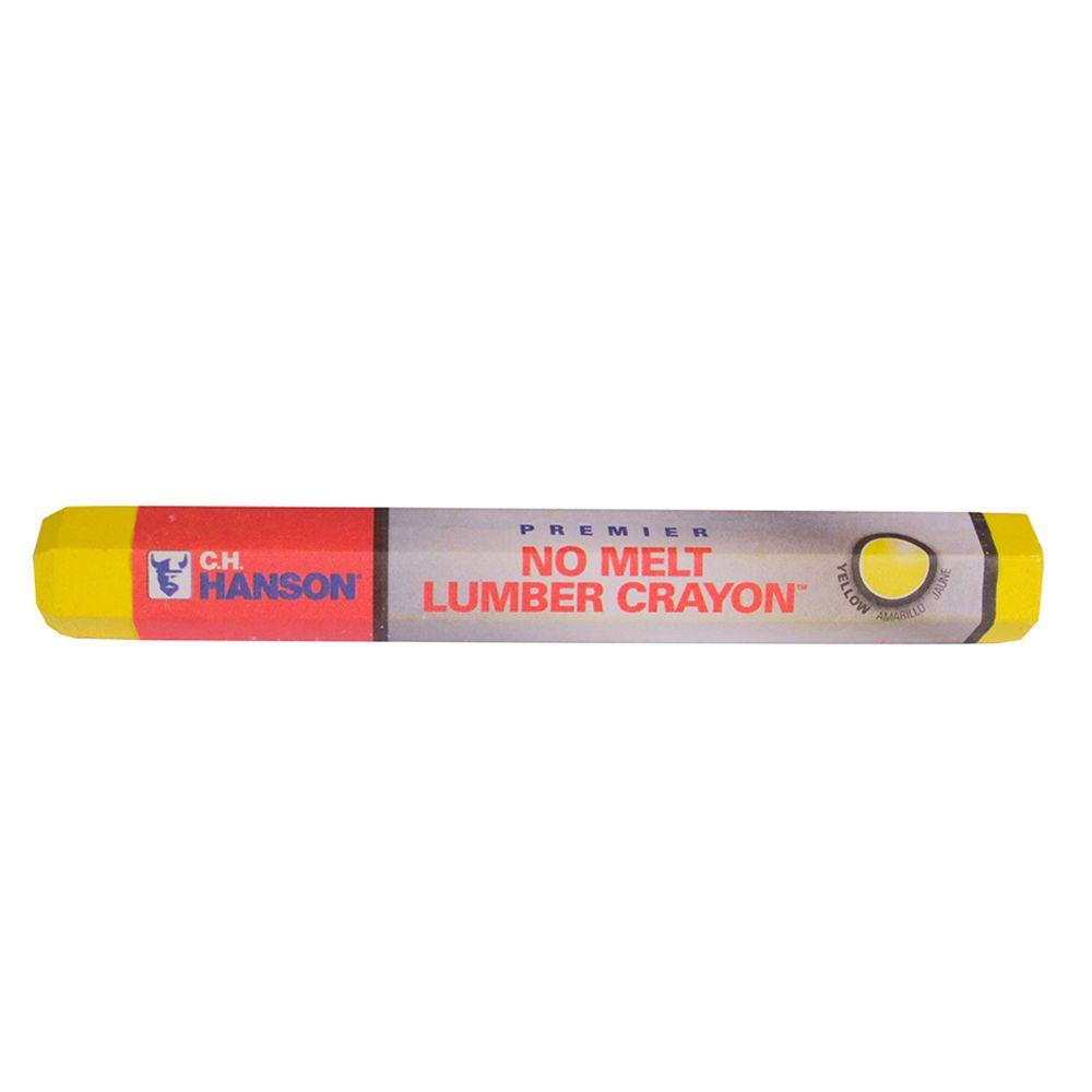 Yellow Premier Lumber Crayon