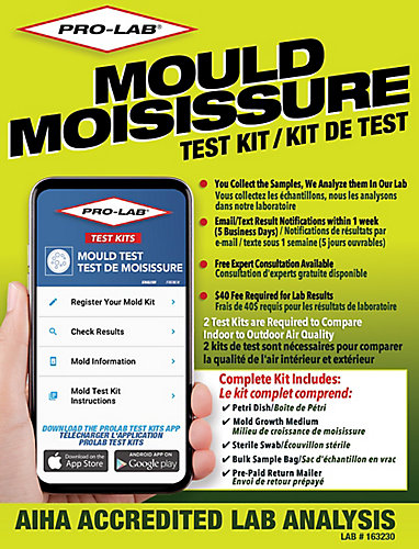 Pro lab pro lab mold test kit mo109 the home depot canada pro lab mold test kit mo109 solutioingenieria Choice Image