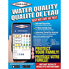 PRO-LAB Water Quality Test Kit WQ105