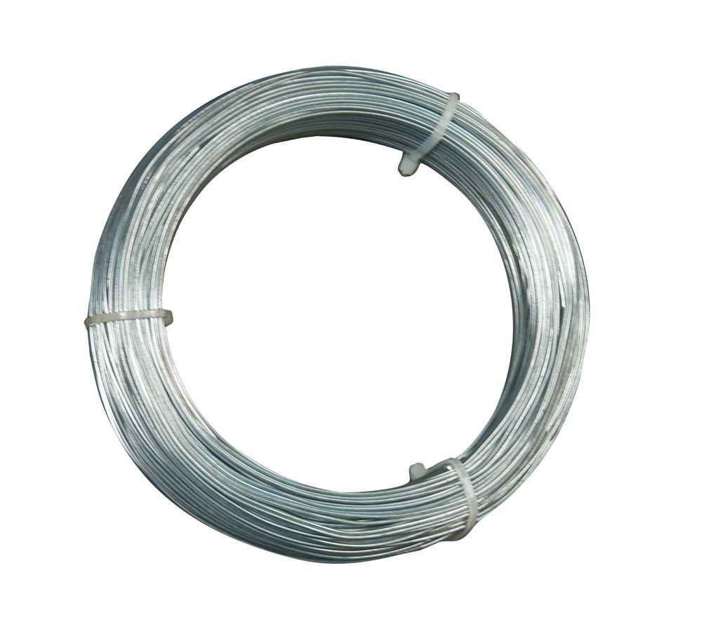 18 Gauge Hanger Wire, for Suspending Drop Ceiling Tees from Lag Screws - 300 Feet