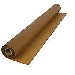 Papier Ciré de 3 pi x 250 pi de 13.6 kg pour l'Installation de Plancher de Bois, Rouleau de 69.67 m2