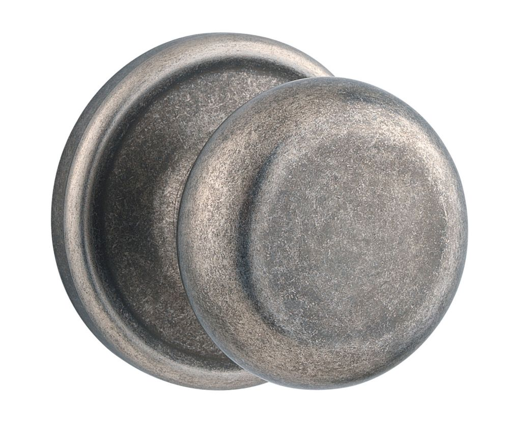 Collections Hancock Rustic Pewter Passage Knob