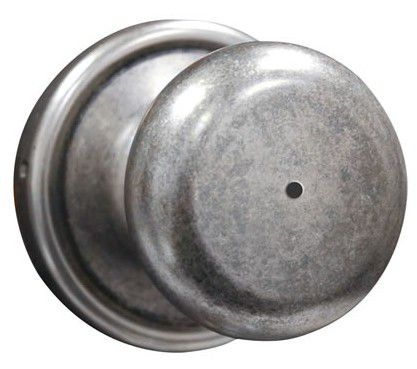Weiser Collections Hancock Rustic Pewter Privacy Knob
