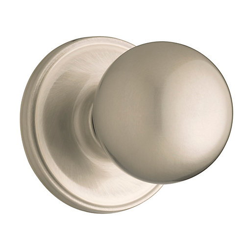 Huntington single dummy  knob - satin nickel finish