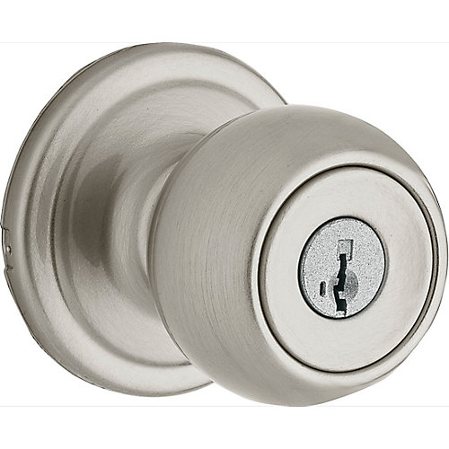 Huntington Satin Nickel Keyed Knob
