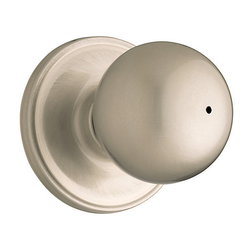 Huntington Satin Nickel Privacy Knob