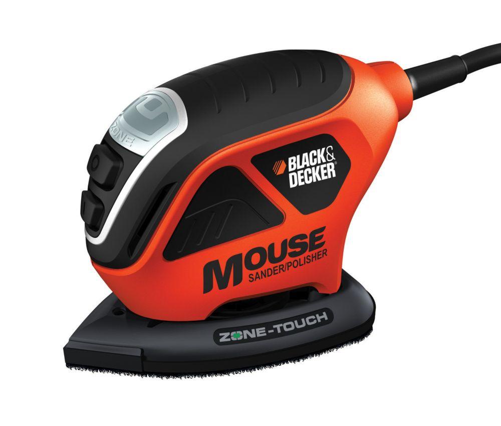 ponceuse polisseuse mouse avec technologie touch zone. Black Bedroom Furniture Sets. Home Design Ideas