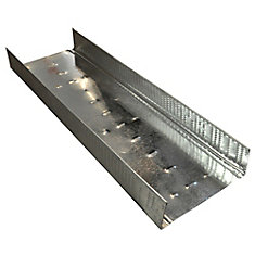 Bailey Platinum Plus 3- 5/8 inch x 10 ft. Galvanized Steel Wall Framing Track