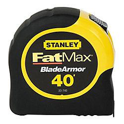 FatMax Ruban à mesurer FATMAX 40 pi x 1-1/4 po avec revêtement Blade Armor