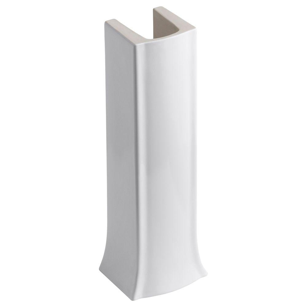 KOHLER Archer Pedestal Leg in White