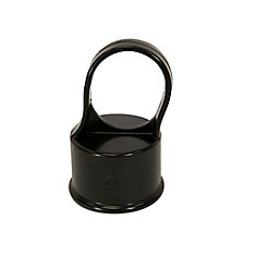 Chain Link Fence 1-5/8 Inch Line Post Top - Black