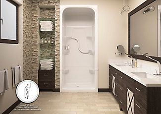 Madison 36 Inch 3 Piece Shower Stall