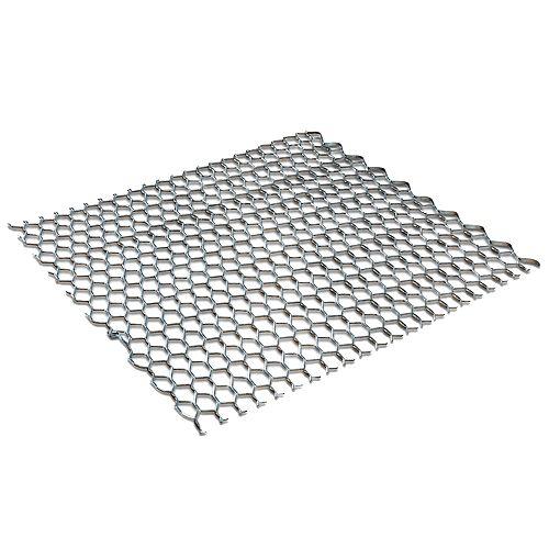 Bailey Metal Products Latte en métal de 27 po x 96 po, galvanisé