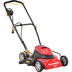 18-inch Corded 2-in-1 Electric Lawn Mower
