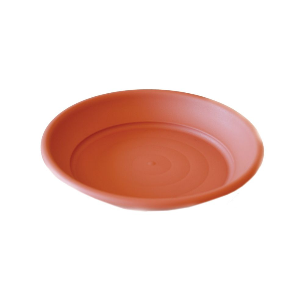 25 In. Bell Pot Saucer - Spice